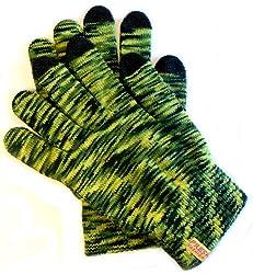 Moderner Damen Handschuh mit Smartfon Funktion, für alle Touch Screen Geräte !!! Holen Sie sich farbenfrohe Kuschel-Handschuhe, ideal für unterwegs, beim Sport und Autofahren. Angenehmer Tragekomfort dank hautfreundlicher Materialien. Als Zweithan...