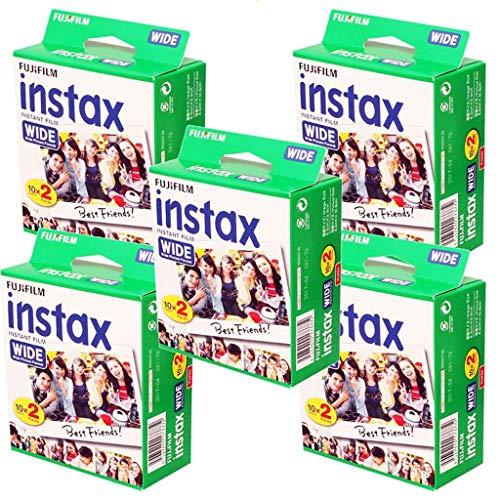 Fujifilm Instax-5Boxen à 20Fotopapiere (100Fotos im Breiten Format) für Fuji Instax 210 (100 Fotos)