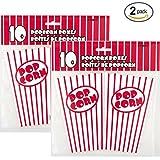 Popcorn Boxes 6X4.25X4.25 10/Pkg- by Unique Industries
