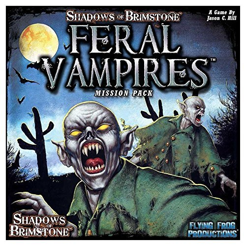 Flying Frog Productions FFP07MP01 Feral Vampires Mission Pack: Shadows of  Brimstone, Multicolore