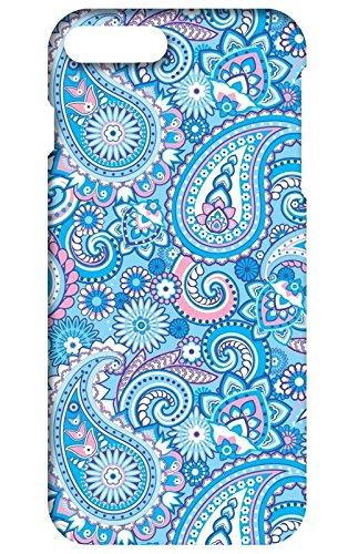 Back cover for Apple iPhone 8 plus | Designer case |pattern patterns texture blue pink iPhone 8 plus case| 3D Premium quality (Multicolor, Matte Finish,Poly-Carbonate hard plastic)