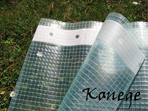 Gitterfolie mit Nagelrand, Gewächshausfolie 2,0m breit x 10,0m(2,20€/m²)