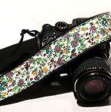 Blumenmuster Kameragurt. Bunte Kameragurt. Kleine Blumen Kameragurt. Nikon Canon Kamera Gurt. Foto Kamera Zubehör, 038