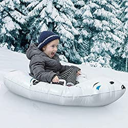 Luge Snow Boogie Gonflable Ours Polaire