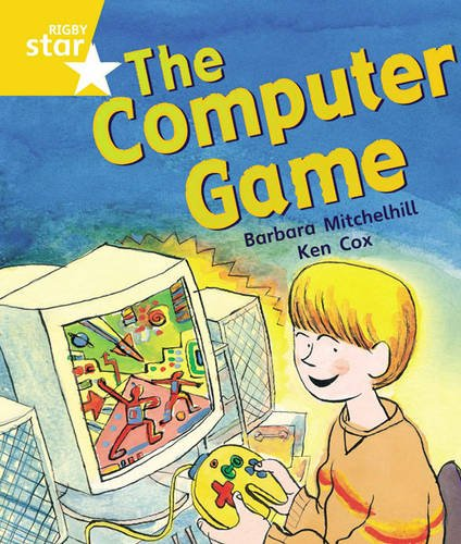 Rigby Star Guided Year 1 Yellow Level: The Computer Game Pupil Book (single)