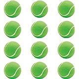 Steller Tennis Rubber Ball for Cricket Light Weight - Pack of 12 Green