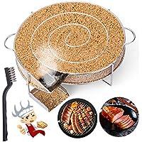 LIHAO Générateur de Fumée Froide pour Fumoir Fumage Viande Poisson avec Brosse Nettoyage Grille Barbecue
