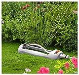 Quantum Garden QG-WLZ24 Viereckregner, Sprinkler mit Schwenkfunktion