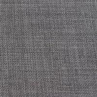 Tessuto grigio pietra di lino morbido per