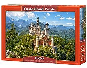 Castorland Neuschwanstein Castle 1500 pcs Puzzle - Rompecabezas (Puzzle Rompecabezas, Paisaje, Niños, Niño/niña, 9 año(s), Interior)