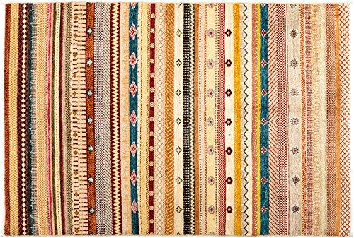 Solo Teppiche handgeknotet Bereich Teppich, Wolle, multicolor, 4'5,1cm X 6' 5,1cm