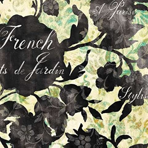 Feeling at home, Stampa artistica x cornice - quadro, fine art print, Paris Bloom I cm 51x51