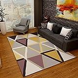 tappeti Creative Light- Nordic Geometry Art Living Room Grandi Camera da Letto Tavolini da caffè rettangolari (Dimensioni : 1.6m*2.3m)