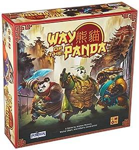 Asmodee CMNWPA001 Way of The Panda, alfonbrilla para ratón