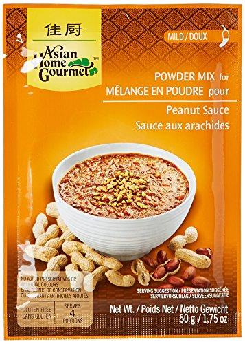 AHG Pâte d'Épice Sauce Cacahuètes 50 g - Lot de 6