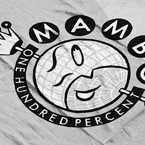 Mambo Crown Logo Women's T-Shirt Heather Grey