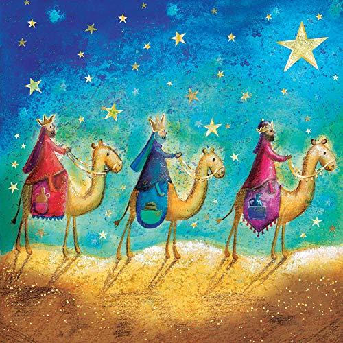 Just Cards Direct Weihnachtskarten, mit englischsprachiger Aufschrift