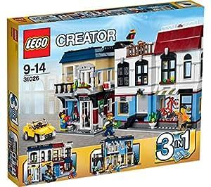LEGO Creator - Le Magasin de Vélos et Le Café - 31026