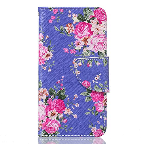 iPhone 6S Case,iPhone 6 Cover - Linvei® iPhone 6/6S 4.7 Inch Design Magnetic Closure Style PU Leather Wallet [Stand Feature] Flip Folio Protective Case with Lanyard Strap Carrying Cover Color 6