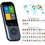 Kacsoo Traduttore di Lingua, Traduttore vocale Supporto Intelligente 138 Lingue, Traduzione bidirezionale WIFI Offline…