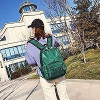 Bolsa Patrón pequeña Huella Hombro Impermeable de Tela Oxford Mochila Bolso Casual del Hombro (Color: Negro),ChenYanDong (Color : Green)