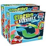 Circuit Flexible et Lumineux 324 pcs – Le circuit de voitures dont les rails se...