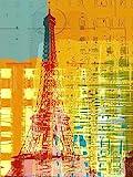 The Poster Corp Joost Hogervorst - New Paint - Paris Eifel