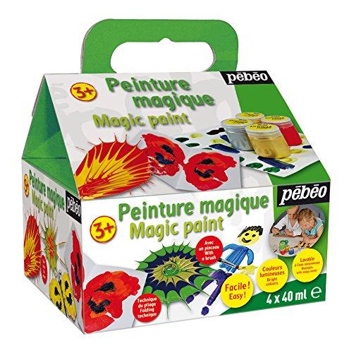 Premium magia 059,400 principianti pebeo '4 x 40 ml lattine di vernice per le spezie gioco