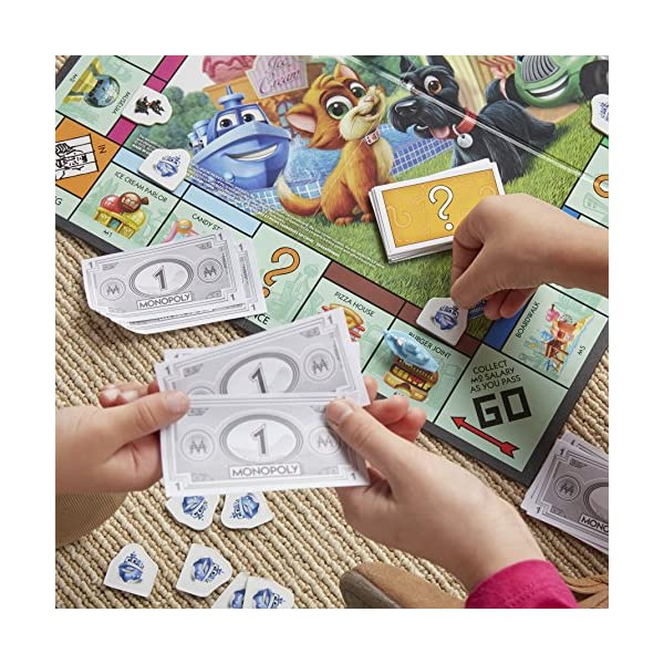 Hasbro Gaming- Monopoly Junior, Versione 2018, A6984456 4 spesavip