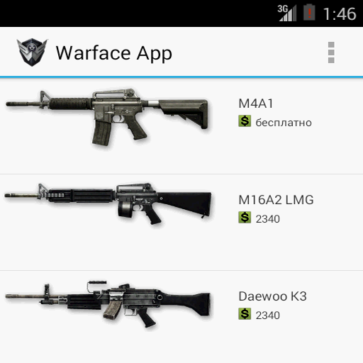 warface app appstore for android. Black Bedroom Furniture Sets. Home Design Ideas