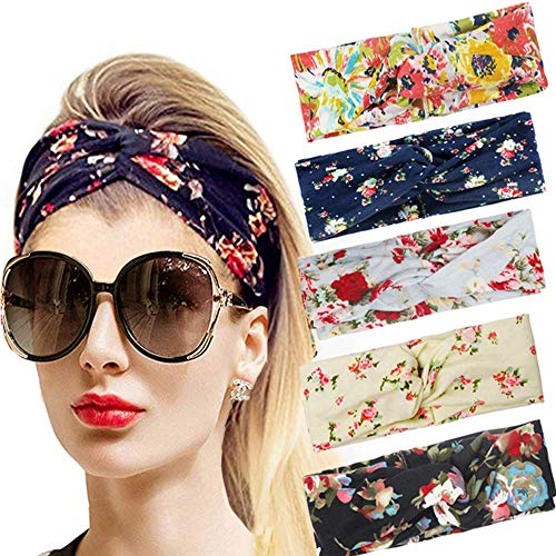 Headband Women Vintage Flower He...