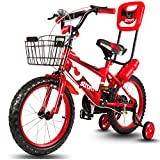 Baybee Strom Freestyle Kids Bike | Boys Bikes And Girls Bikes With Training Wheels And Basket, 16 Inches, Gifts For Children
