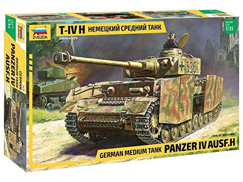 500783620 - Zvezda 1:35 Panzer IV Ausf. H
