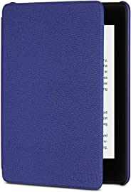 Amazon Kindle Paperwhite Leather Cover (10th Generation - 2018 Release), Indigo purple