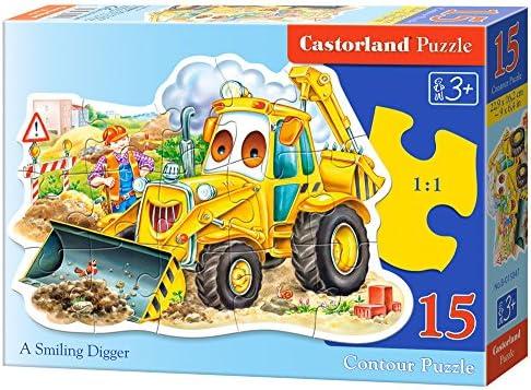 Castorland Castorland Castorland - B-015047 - Puzzle - Un Digger Sourire - 15 Pièces   Emballage élégant Et Robuste  ec840c