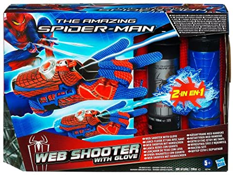 The Amazing Spider-Man Mega Blaster Web-Shooter With Glove