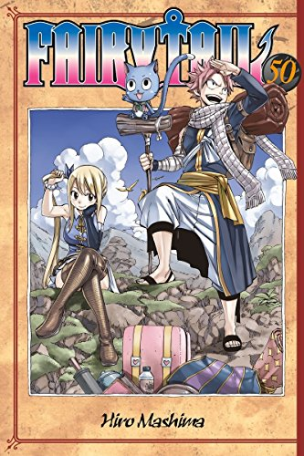 Fairy Tail 50 Cover Image