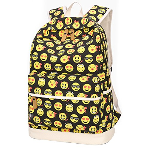 bagerly-lightweight-canvas-laptop-bag-shoulder-daypack-school-backpack-causal-handbag-yellow