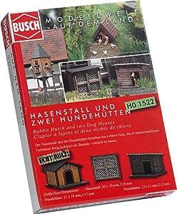 Busch - Edificio ferroviario de modelismo ferroviario H0 Escala 1:87 (BUE1522)