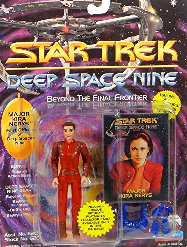 Major Kira Nerys First Officer DS9 - Actionfigur - Star Trek Deep Space Nine von Playmates (Deep Space Nine Playmates)