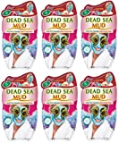 Montagne Jeunesse Dead Sea Mud 20 g Face Masque Sachets - Pack of 6