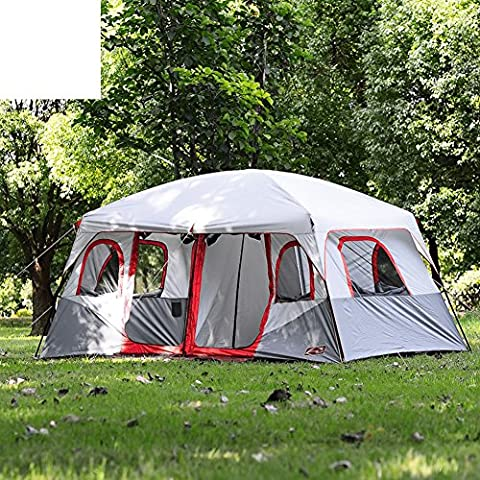 [outdoor]6-12People driving camp/ tent/ two-room Sun/ rain tent-