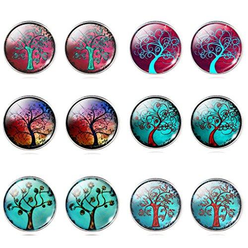 jiayiqi-unisexe-peinture-a-lhuile-arbre-temps-pierres-precieuses-boucles-doreilles-6-serties