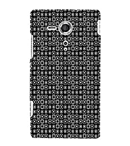 EPICCASE tiny spots Mobile Back Case Cover For Sony Xperia SP (Designer Case)