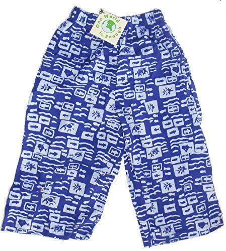 kids-colourful-cotton-elasticated-childrens-trousers-ocean-print-fair-trade-age-3-4