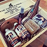 Timberwolf | Personalised Filled Wooden Box | Father's Day Men's Grooming