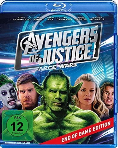 Avengers of Justice: Farce Wars - End of Game Edition [Blu-ray]