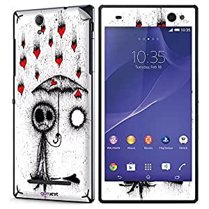 GsmKart SXC3 Mobile Skin for Sony Xperia C3 (White, Xperia C3-380)