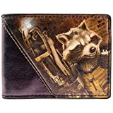Marvel Guardians Of The Galaxy Rocket Multicolore Portefeuille