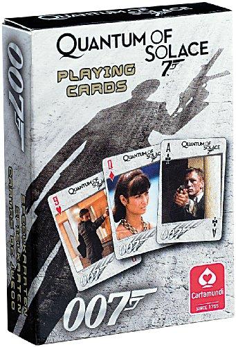 Preisvergleich Produktbild James Bond 007 Quantum of Solace Kartenspiel (52 Blatt)